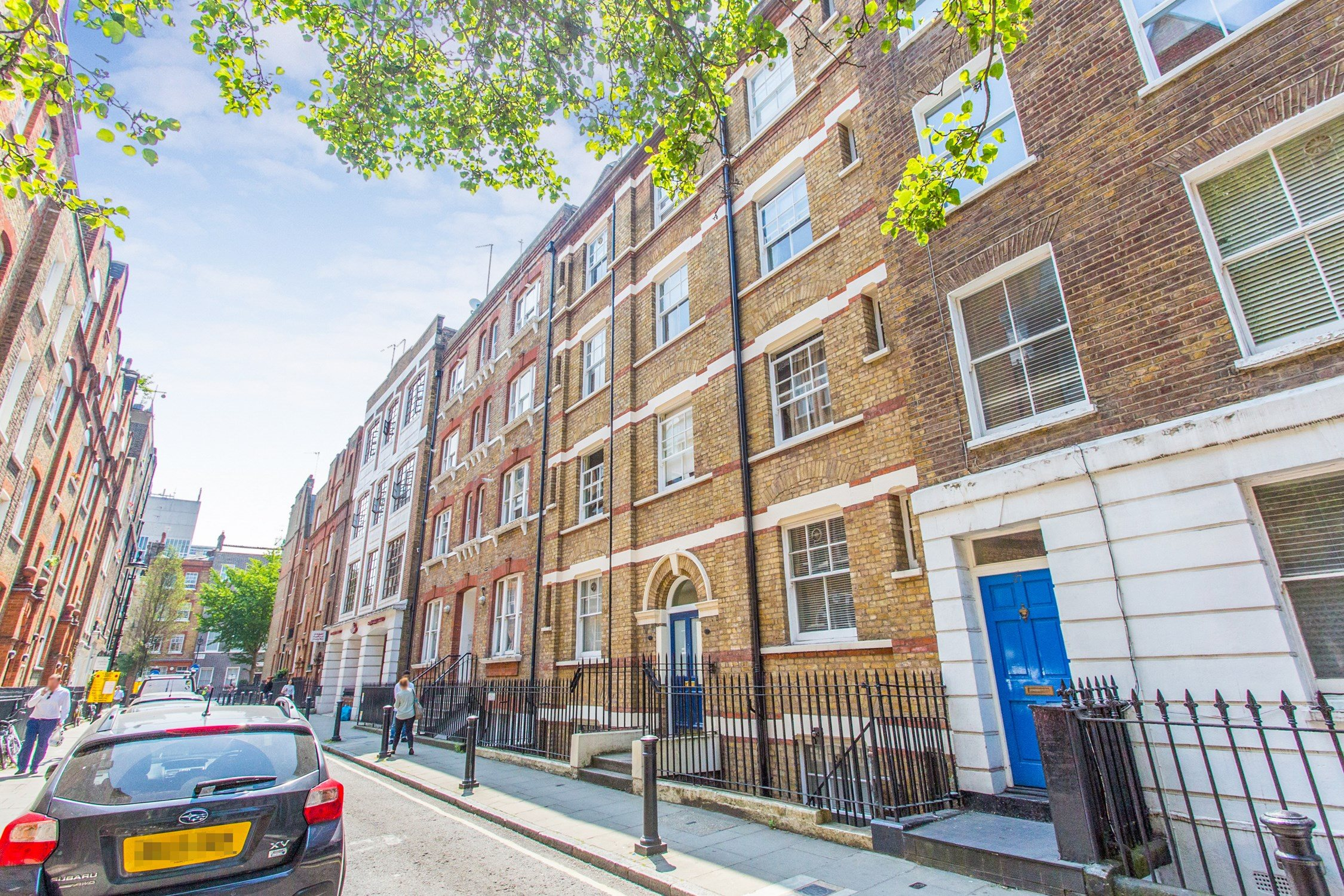 Portico Studio Flat Recently Let In Marylebone Gosfield